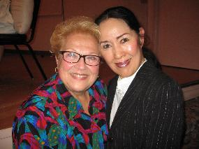 Shigemi Matsumoto with Marilyn Horne